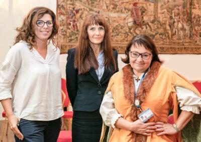 Joanna Warchoł, zastępca prezydenta Krakowa ds. edukacji, sportu i turystyki Anna Korfel-Jasińska, Stanisława Szczepaniak