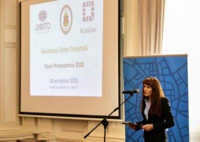 Zastępca prezydenta Krakowa ds. edukacji, sportu i turystyki Anna Korfel-Jasińska