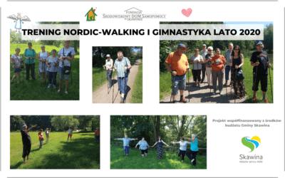 TRENING NORDI-WALKING I GIMNASTYKA LATO 2020